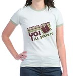 Yo! I'll Solve It Jr. Ringer T-Shirt