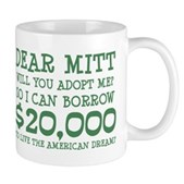 Mitt Will You Adopt Me? Mug
