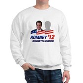 Anti-Romney Shadow Sweatshirt