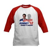 Anti-Romney Shadow Kids Baseball Jersey