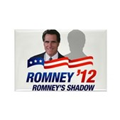 Anti-Romney Shadow Rectangle Magnet