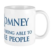 Anti-Romney: Fire People Mug