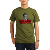 Anti-Romney: Unfit To Serve Organic Men's T-Shirt