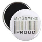 Military Army Girlfriends Proud Magnet