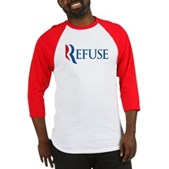 Anti-Romney Refuse Baseball Jersey