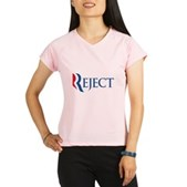Anti-Romney Reject Performance Dry T-Shirt