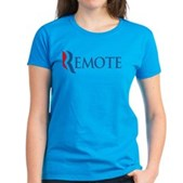 Anti-Romney Remote Women's Dark T-Shirt