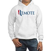 Anti-Romney Remote Hooded Sweatshirt