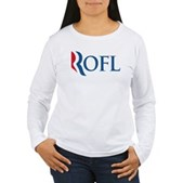 Anti-Romney ROFL Women's Long Sleeve T-Shirt