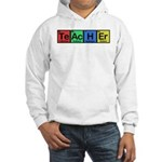 Teacher made of Elements colors Hooded Sweatshirt
