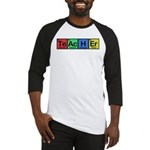 Teacher made of Elements colors Baseball Jersey