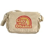Gay for Obama Messenger Bag