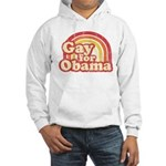 Gay for Obama Hooded Sweatshirt