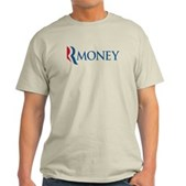 Anti-Romney RMONEY Light T-Shirt