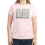 Military Army Sisters Proud Women's Light T-Shirt