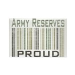 Military Army Reserves Proud Rectangle Magnet