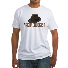Archaeologist Fitted T-Shirt