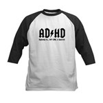 AD/HD Look a Squirrel Kids Baseball Jersey