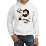 Milk Was a Bad Choice Hooded Sweatshirt