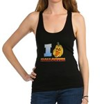 I Love Halloween Racerback Tank Top