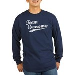 Team Awesome Long Sleeve Dark T-Shirt