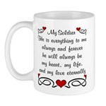 Coast Guard Poem of Love Mug