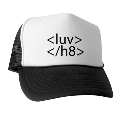 Gift Idea #3: Begin love, end hate HTML cap
