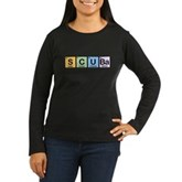 Elements of Scuba Women's Long Sleeve Dark T-Shirt