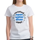 Open Water Diver 2007 Women's T-Shirt