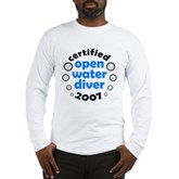 Open Water Diver 2007 Long Sleeve T-Shirt