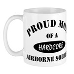Proud Mom Airborne Soldier Mug