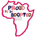proud to be adopted girl africa o White T-Shirt