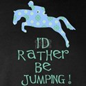 I'd Rather Be Jumping! blue print w/ hunter jumper
