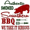 AUTHENTIC SMOKED SOUNTHER BBQ T-Shirt