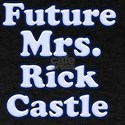 Future mrs Rick Castle blue T-Shirt