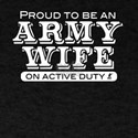 'Proud Army Wife' T-Shirt