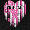 Breast Cancer Phil 4:13 T-Shirt