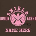 Pink Personalized Junior SHIELD Agent T-Shirt