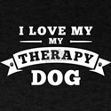 Love My Therapy Dog T-Shirt