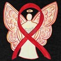 Red Ribbon Angel T-Shirt
