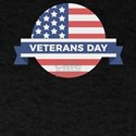 Veterans Day Commemorative Flag Design T-Shirt
