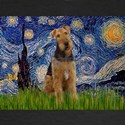STARRY NIGHTWith Airedale #1