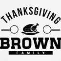 Brown Family Thanksgiving Long Sleeve T-Shirt