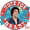 The Brady Bunch: Vote For Greg Brady White T-Shirt