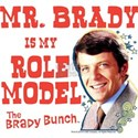 The Brady Bunch: Mr. Brady White T-Shirt