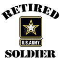 Retired U.S. Army Soldier Shirt