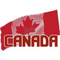 Psychedelic Canadian Maple Leaf Flag T-Shirt