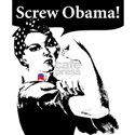 Screw Obama! White T-Shirt