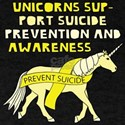 Unicorns Support Suicide Prevention & Awar T-Shirt