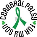 Cerebral Palsy Son Ribbon T-Shirt